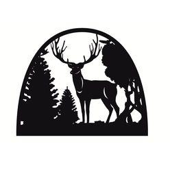 Дровница Deer