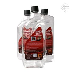 Биотопливо Kratki 1 литр с запахом ЛЕСА