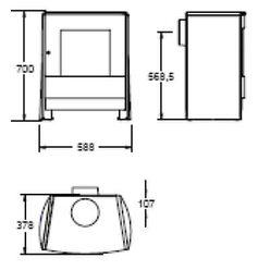 Печь C23, графит (Efel/Nestor Martin)