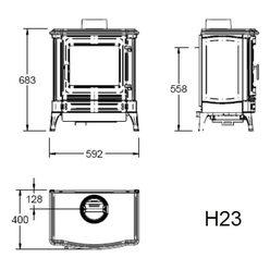 Печь H23, графит (Efel/Nestor Martin)