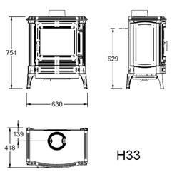 Печь H33, графит (Efel/Nestor Martin)