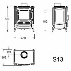 Печь S13, графит (Efel/Nestor Martin)