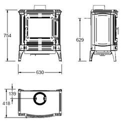 Печь S33, графит (Efel/Nestor Martin)