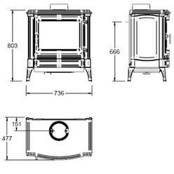 Печь S43, графит (Efel/Nestor Martin)