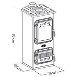 Печь Bruciatuto Krystal 870LB (Sideros)