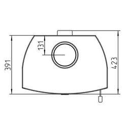 Печь ALVESTA II, коричневый/песчаник (Thorma)