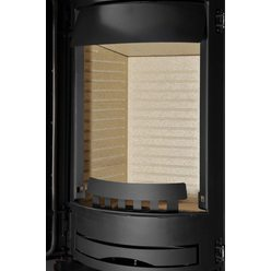 Печь ATIKA, черный/красный, с аккум. камнями (Thorma)