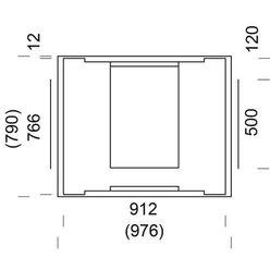 Печь-камин MAMO SOLO 180-1 (NunnaUuni)