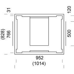 Печь-камин MAMO SOLO 180-2 (NunnaUuni)