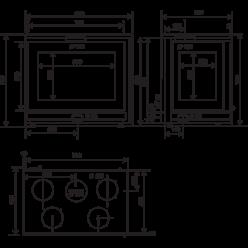 Топка 800 FV Bi Vision Droit (RLD)