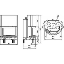 Топка AX-B 900 PC-C (Axis)