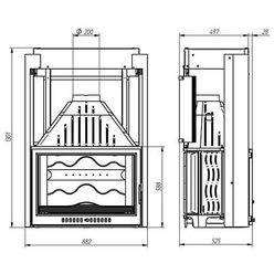 Топка 805 piano (Ferlux)