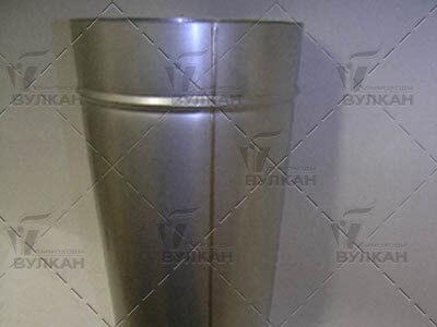 Дымоход Вулкан: Труба сварная, со швом встык, в среде инертных газов