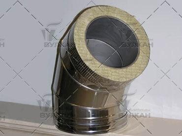 Дымоход Вулкан: Гарантированно высокая точность размеров и формы, и как следствие, отличная стыковка между элементами.
