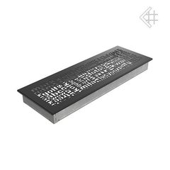 Вентиляционная решетка 17x49 ABC черная