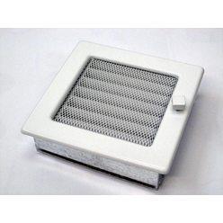 Вентиляционная решетка 17х17 белая с жалюзи