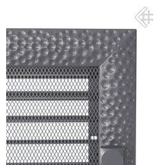 Вентиляционная решетка 22x37 Venus графитовая с жалюзи