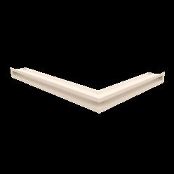 Вентиляционная решетка Люфт угловая левая бежевая 60 (LUFT/NL/60/45S/K)