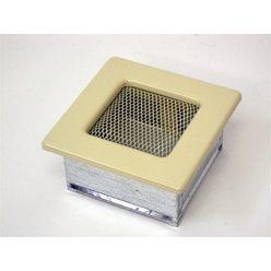 Вентиляционная решетка 11х11 бежевая