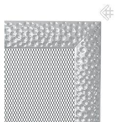 Вентиляционная решетка 11x11 Venus никелированная