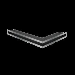 Вентиляционная решетка Люфт угловая левая стальная 6*40 (LUFT/NL/6/40/45S/SZ)