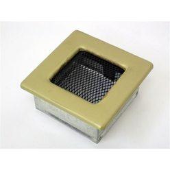 Вентиляционная решетка 11х11 гальваника под золото