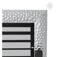 Вентиляционная решетка Вентиляционная решетка 22x45 Venus никелированная с жалюзи