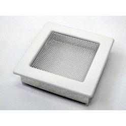 Вентиляционная решетка 17х17 белая
