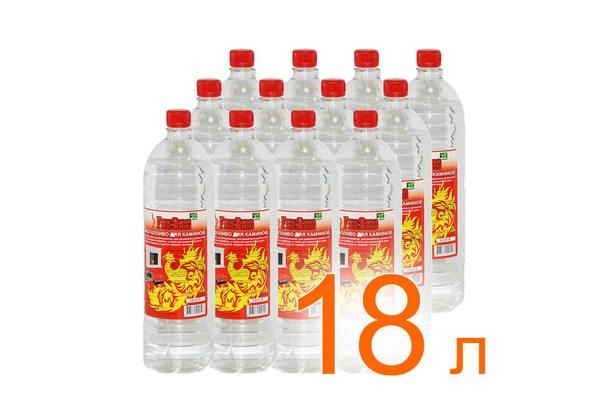 Биотопливо FireBird 18 литров (12 бутылок по 1,5 литра)