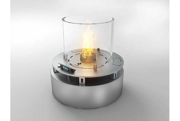 Автоматический биокамин Denver E-Robbon Fire Type Rondo