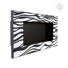 Настенный биокамин Kratki Golf Zebra