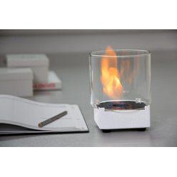 Настольный биокамин Silver Smith Nano 1 Premium White