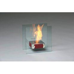Настольный биокамин Silver Smith Mini 3 Premium Red