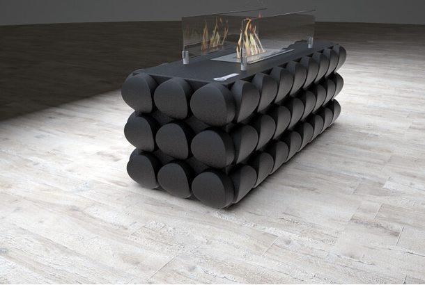Биокамин Kronco Oniks Table