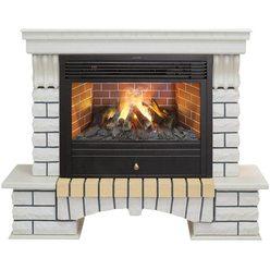 Декоративный электрокамин Real-Flame Country 26 WT с очагом 3D Novara 26