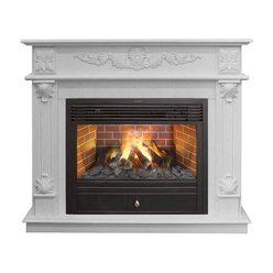 Реалистичный электрокамин Real-Flame Philadelphia WT с очагом 3D Novara 26