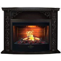 Электрический камин Real-Flame Izabella с очагом FireStar 33 3D