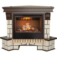 Электрокамин  Real-Flame Stone New Corner с очагом 3D Helios