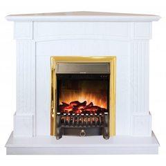 Электрокамин Real-Flame Andrea Corner WT с Fobos Lux S BR