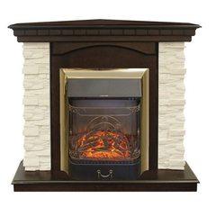 Электрокамин угловой Real Flame Elford Corner STD/EUG/24/25'5/HL AO c очагом Majestic s Lux BR