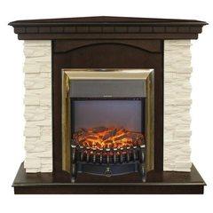 Электрокамин Real-Flame Elford Corner STD/EUG/24/25'5/HL AO c очагом Fobos s Lux BL/BR