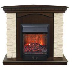 Электрокамин Real Flame Elford Corner STD/EUG/24/25'5/HL AO c очагом Majestic s Lux BL