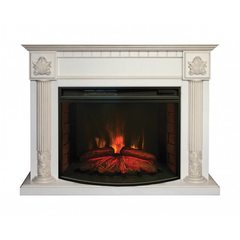 Электрический камин Real-Flame Imperia 33 WT с очагом Firespace 33 S IR