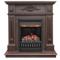 Электрический камин Real-Flame Lilian STD/EUG DN с очагами с очагом 3D Oregan