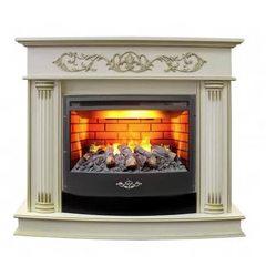 Электрокамин Real-Flame Milano 25/25,5 WT c очагом 3D Firestar 25,5