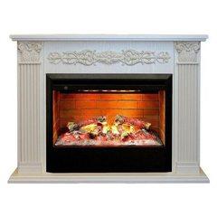 Электрический камин Real-Flame Milton 26 WT с очагом 3D Helios 26