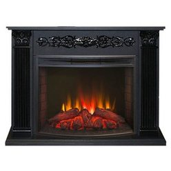 Электрический камин Real-Flame Milton 25,5 DN с очагом Evrika 25,5