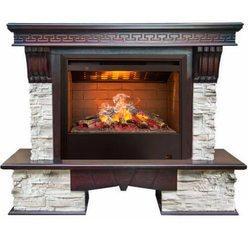 Электрический камин Real-Flame Rockland 26 AO с очагом 3D Helios
