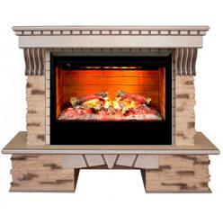 Электрический камин Real-Flame Sorento 26 AO с очагом 3D Helios 26