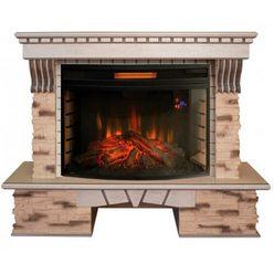 Электрический камин Real-Flame Sorento 33 WT c FireSpace 33W S IR